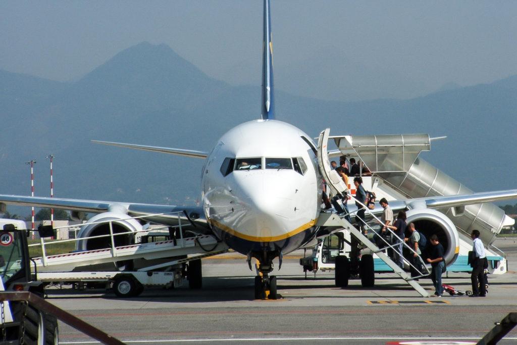 Rutsjetur for Ryanair-aktier efter EU-dom