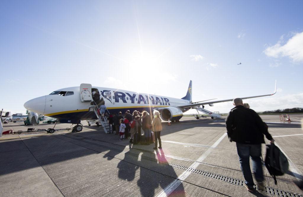 Ryanair tøver med at anerkende fagforeninger i hjemlandet