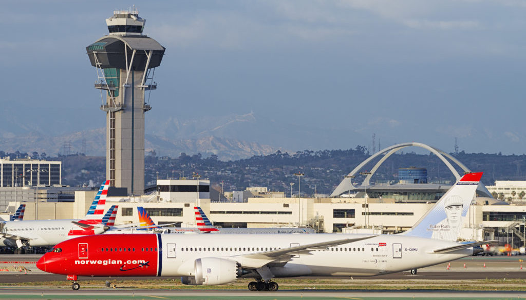 Norwegian 787 LAX