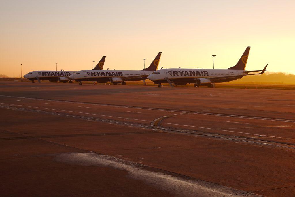 Glohed sommer i vente for Ryanair