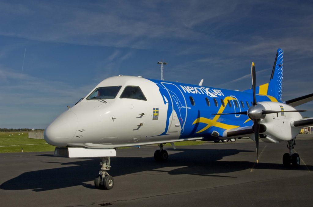 Svenske Nextjet begærer sig konkurs