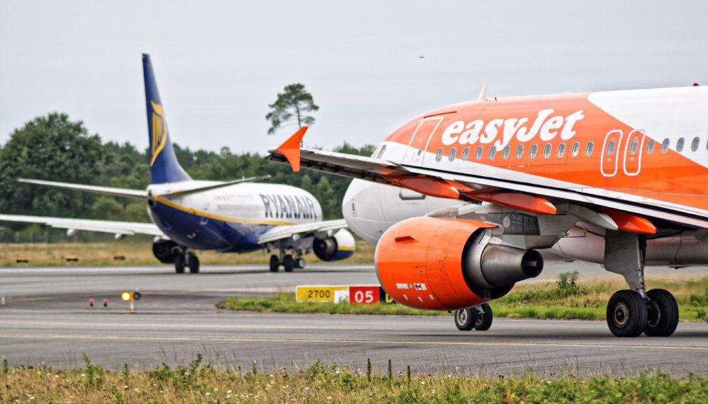 Ryanair og EasyJet