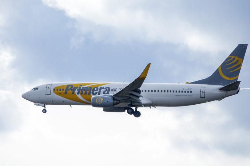 Primera Air presset i England: Aflyser alle Birmingham-fly