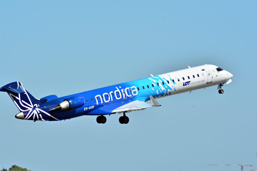 SAS hyrer estisk leverandør af CRJ900-fly til danske ruter
