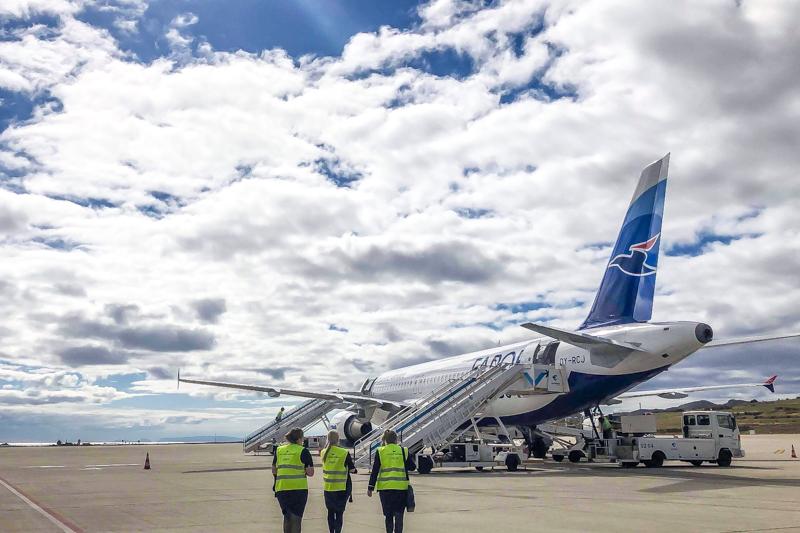 Atlantic Airways-piloter og kabineansatte træder ind i FPU