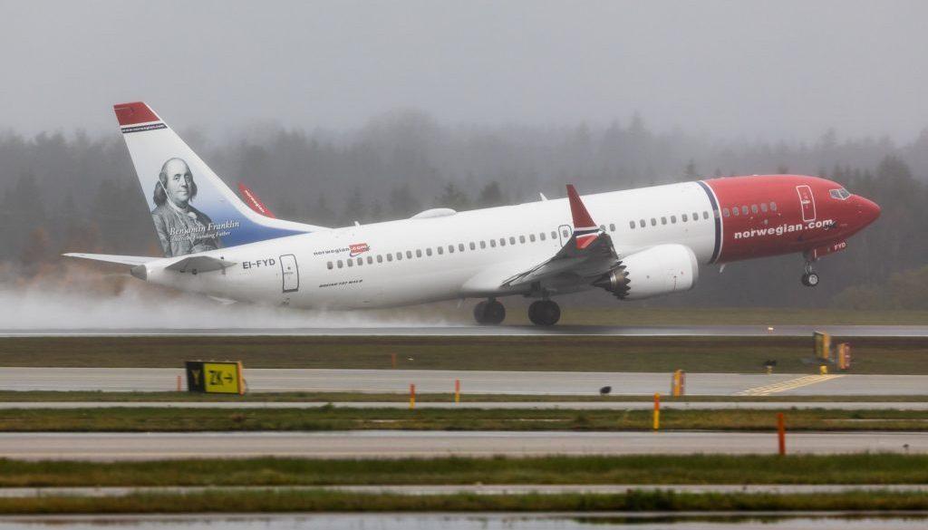 Norwegian 737 PR
