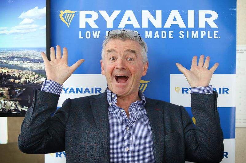 Ryanair-chef opgiver direktørpost for ny toppost i lavprisimperie