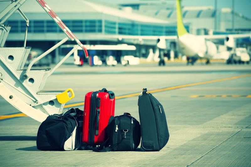 Håndbagage er blandt de hyppigste årsager til arbejdsskader