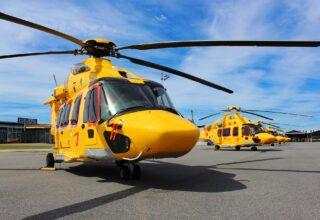 Dansk NHV-base udvider flåden med helt ny helikopter
