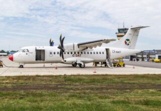 DAT's litauiske datterselskab assisterer med tætpakket flyprogram til Folkemødet